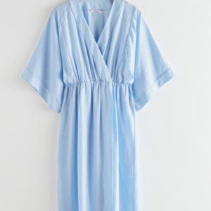 & Other Stories Kaftan Midi Dress